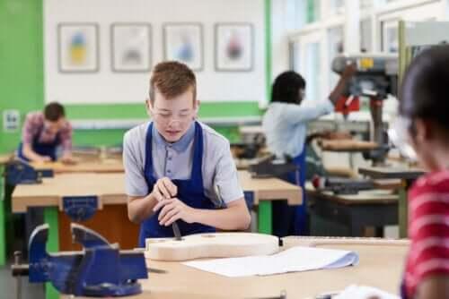Centri professionali e lavoro in classe