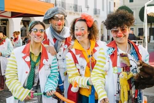 Clown ospedalieri.
