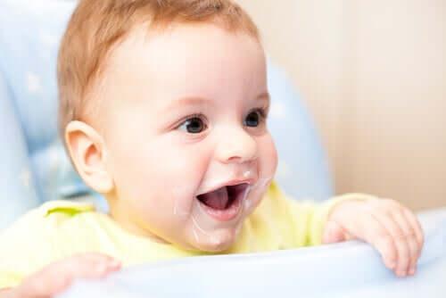Lo yogurt: posso darlo a mio figlio piccolo?