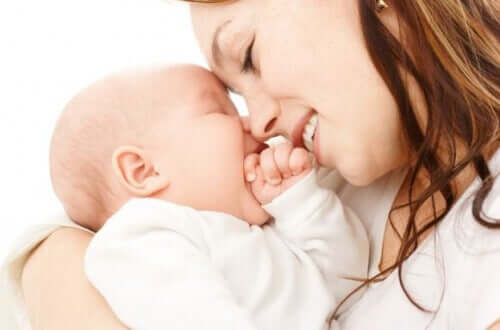 godersi la maternità mamma e figlio