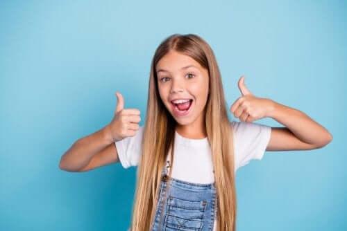 per i bambini, iniziare la giornata con positività è il primo passo per crescere felici