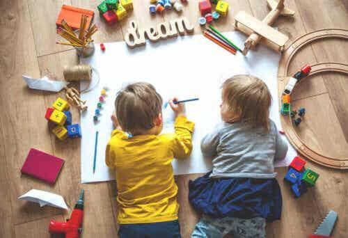 Create uno spazio di apprendimento per vostro figlio durante la quarantena