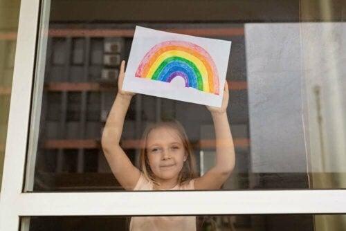 I bambini: un esempio di adattamento durante questa quarantena