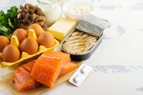 le fonti alimentari sono un buon mezzo per raggiungere la dose consigliata di vitamina D durante l'isolamento