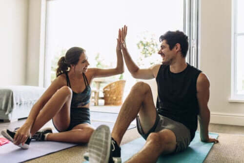 il confinamento in casa non deve essere un'occasione per trascurare la propria forma fisica
