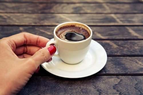 Caffè in una tazzina