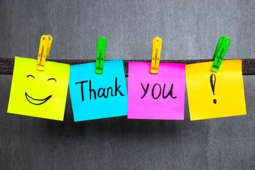 I messaggi di ringraziamento per insegnare ai bambini le buone maniere