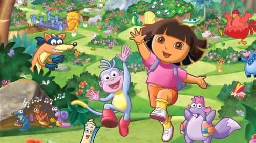 Dora l'esploratrice, immagine del cartone animato