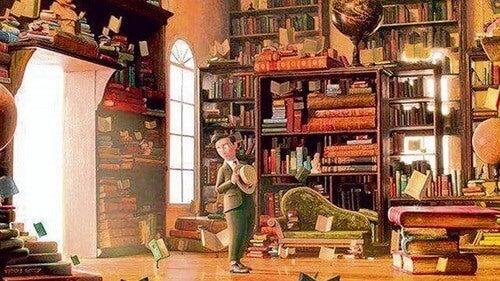 Immagine del cortometraggio per incoraggiare la lettura nei bambini