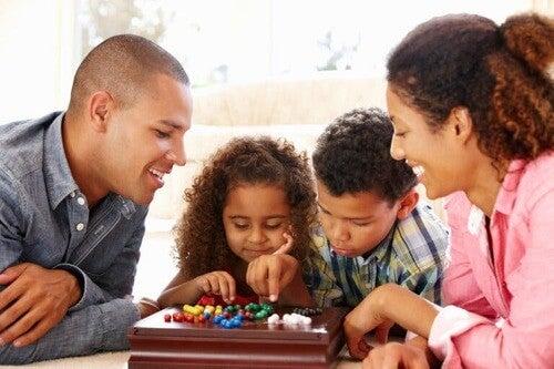 Giochi da tavola in famiglia