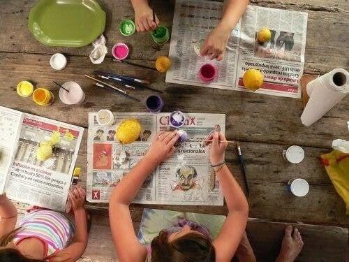 Giochi creativi per bambini da 2 a 3 anni