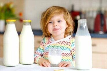 Allergia alle proteine del latte vaccino nei bambini