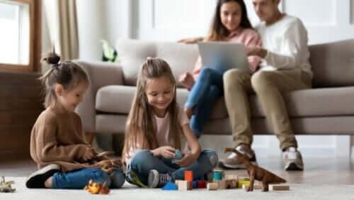 Tipi di famiglia a seconda del grado di coesione