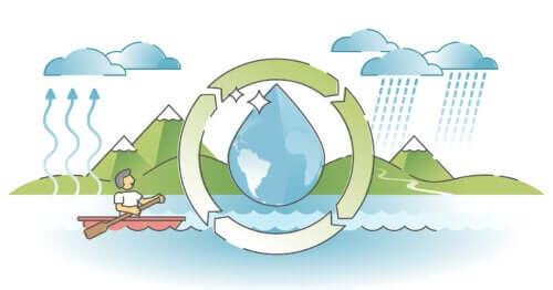 Il ciclo dell'acqua e come spiegarlo ai bambini