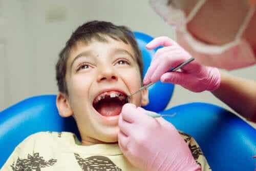 I problemi dentali più diffusi tra i bambini