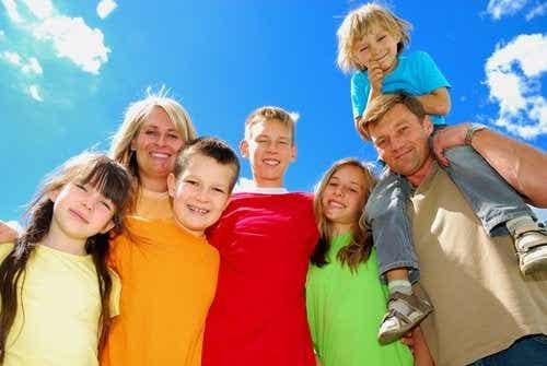 Come sono organizzate le famiglie numerose?