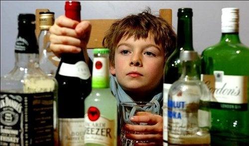 In che modo il consumo di alcol influisce sui minori?