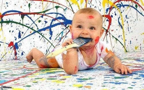 Dipingere un buon passatempo.