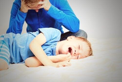 Cosa fare quando tuo figlio non è d'accordo con te