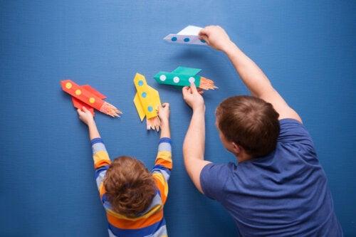 9 lavoretti di carta da realizzare insieme ai bambini