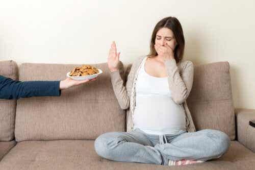 Come la gravidanza influenza i sensi