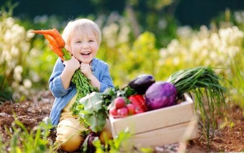 Dieta vegana per bambini: cosa bisogna sapere