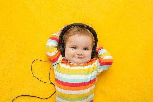 I benefici della musica per i bambini.